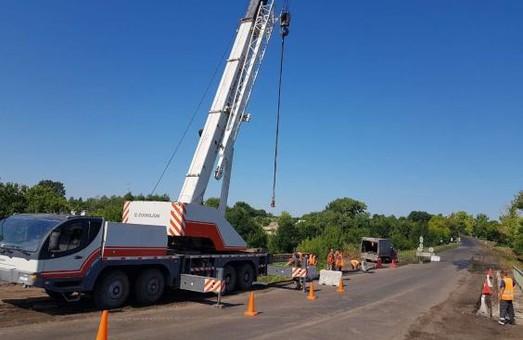 На Харківщині триває ремонт мостів