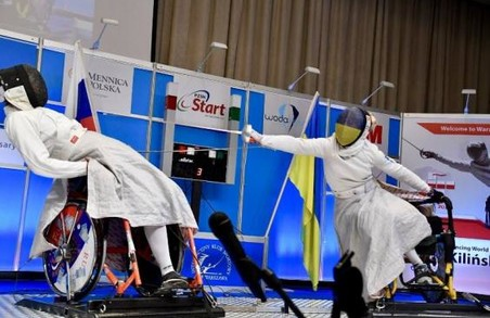 Харківська фехтувальниця завоювала дві медалі на Кубку світу з фехтування на візках