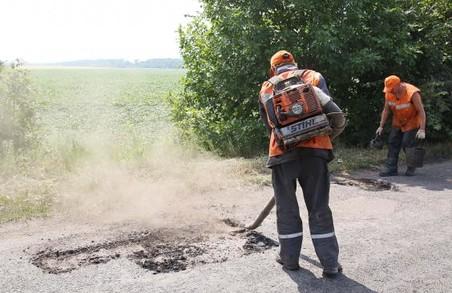 На Харківщині на 9 дорогах місцевого значення завершений ремонт