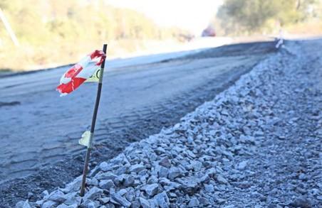На Харківщині продовжується капітальний ремонт доріг