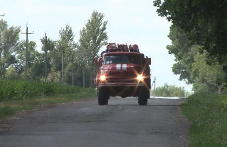 На Харківщині троє людей загинули в результаті пожеж