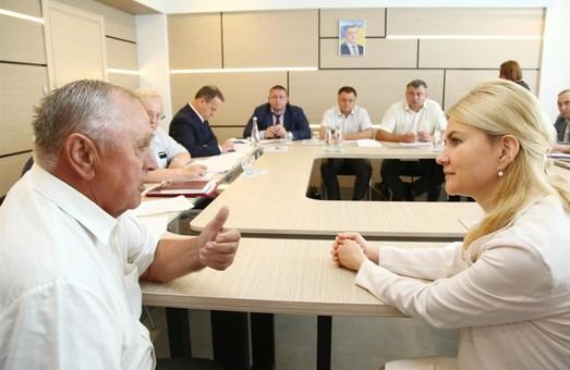Зустрічатися з людьми потрібно там, де вони працюють: Світлтична провела особистий прийом громадян на КП «Харківводоканал»