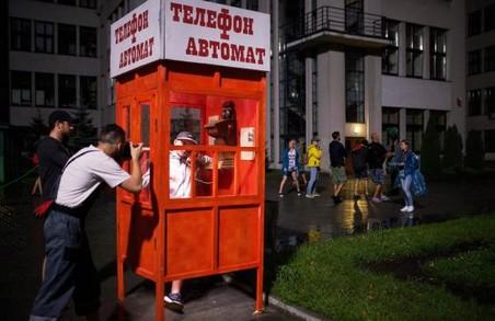 Будівля Держпрому та площа Свободи в Харкові перетворилися на знімальний майданчик