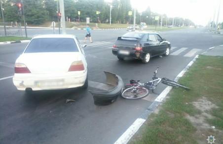 В Харкові п'яний водій спровокував потрійне ДТП