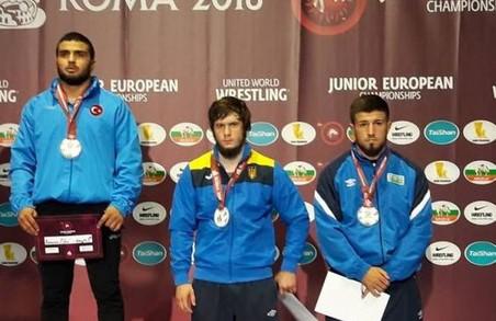 Харків'янин став призером чемпіонату Європи з боротьби