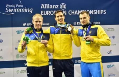 9 харків'ян у складі Національної паралімпійської збірної з плавання отримали медалі чемпіонату Європи