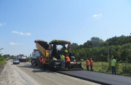 Ремонт доріг на Харківщині: роботи на дорогах державного значення вийшли на завершальні етапи