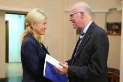 Відкриття в Харкові представництва Фонду Аденауера — це додаткові можливості для молоді — Світлична