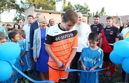 Під час робочої поїздки до Дергачівського району Світлична заявила, що нові спортмайданчики з'являться по всьому регіоні