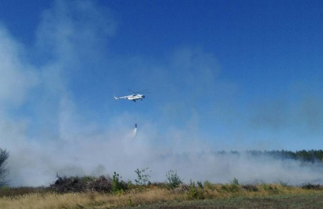 Пожежу поблизу міста Балаклія локалізовано