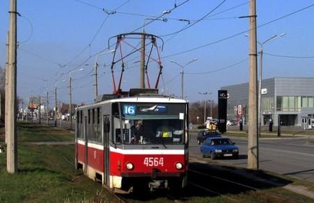 Двом харківським трамваям призупинять рух