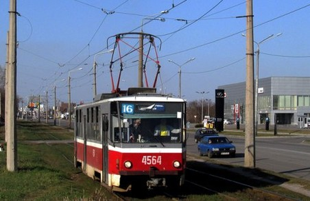 Трамваї №16 і 26 певний час не будуть курсувати