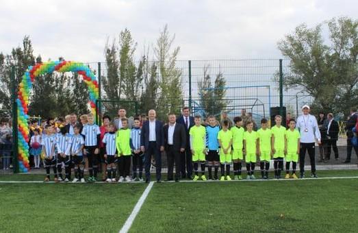 На території однієї з шкіл Харківщини з'явився новий спорткомплекс