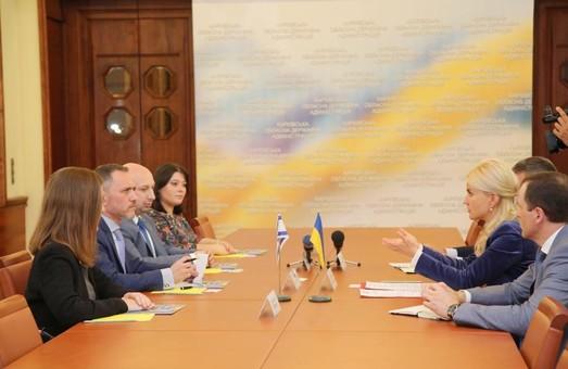 Світлична обговорила з радником Посольства Держави Ізраїль перспективи співпраці з Харківщиною у бізнесі та сільському господарстві