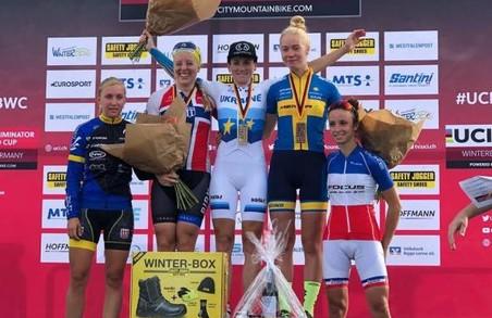 Харківська спортсменка перемогла на етапі Кубку світу