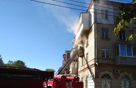 В Харкові сталася пожежа в житловому будинку, є загиблий