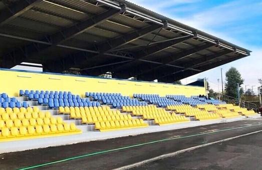 В Дергачах був відновлений стадіон, який майже 40 років не знав ремонту — Світлична