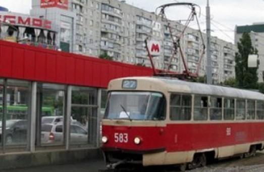 На Салтівку трамваї не ідуть: прохання звільнити вагони