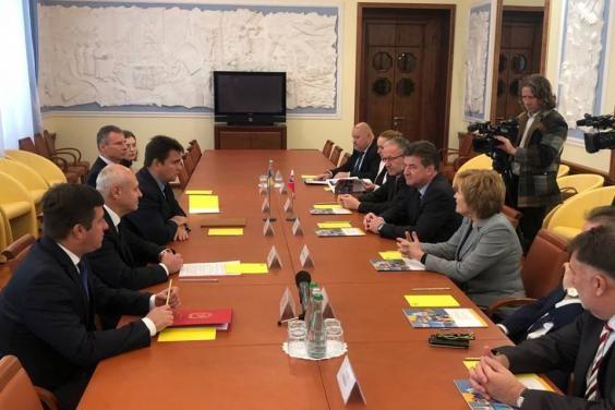 Міністри закордонних справ України та Словацької Республіки зустрілися в ХОДА