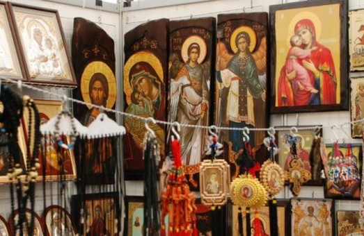У Харкові розгортають православний ярмарок