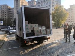 Чернігівська область отримала гуманітарну допомогу від Харківщини