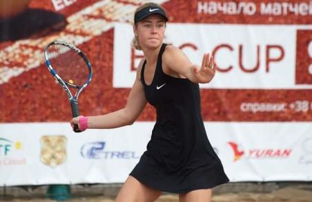 Харківська тенісистка перемогла на міжнародному турнірі ITF
