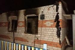 На Харківщині внаслідок пожежі в дачному будинку загинула людина (фото)
