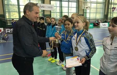 Харківські бадмінтоністки – призерки чемпіонату України