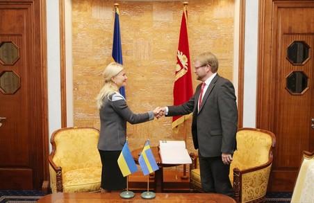 Голова ХОДА Світлична та посол Швеції Хаґстрьом обговорили перспективні напрямки співробітництва