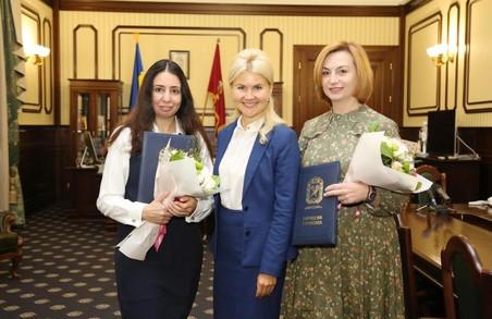Юлія Світлична нагородила двох харківських волонтерок (ФОТО)