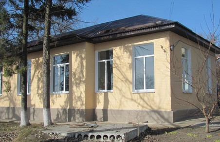 Краснокутська Центральна районна лікарня вперше зазнала ремонту (фото)
