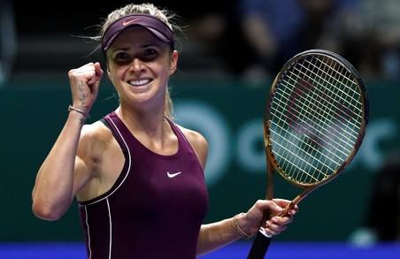 Світлична привітала Світоліну з перемогою в головному тенісному турнірі року