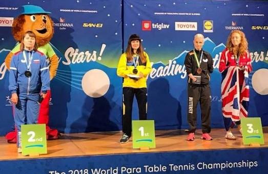Паралімпійська спортсменка з Харкова здобула перемогу на чемпіонаті світу