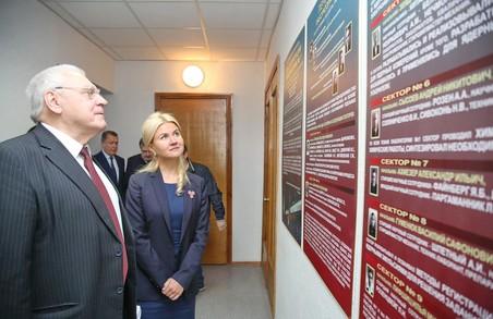 Світлична привітала з ювілеєм ННЦ «Харківський фізико-технічний інститут» (ФОТО)