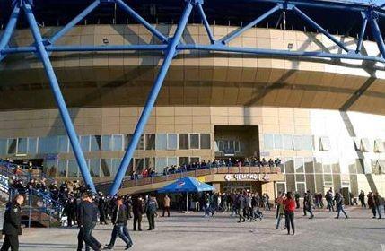 Сьогодні через футбол заборонять проїзд біля стадіону «Металіст»