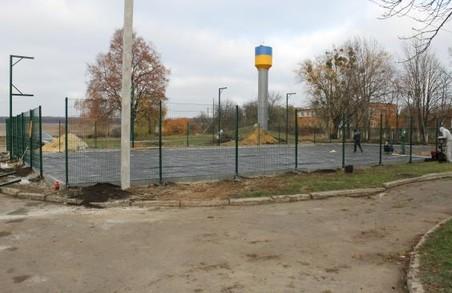 На Харківщині скоро з'явиться сучасний спортмайданчик