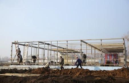 На Харківщині завершується будівництво нової амбулаторії