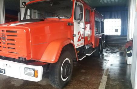 На Харківщині сталися дві пожежі через людську необережність (фото)