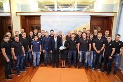 Світлична привітала з перемогами регбістів клубу «Олімп»