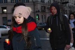 В Харкові запалили свічки в пам'ять про жертв ДТП
