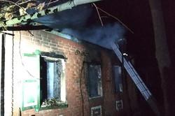 На Харківщині під час пожежі загинула жінка