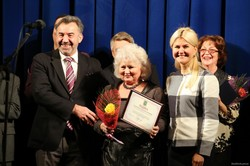 Світлична привітала Харківський театр Пушкіна з 85-річчям