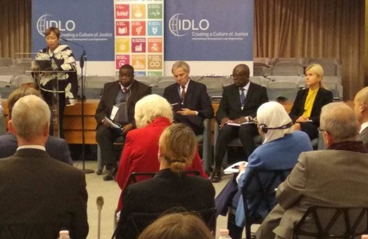 Світлична виступила з доповіддю на Партнерському форумі IDLO «Верховенство права в бурхливі часи»
