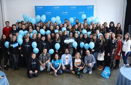 Школярі з Харківщини взяли участь у створенні Маніфесту української молоді ЮНІСЕФ