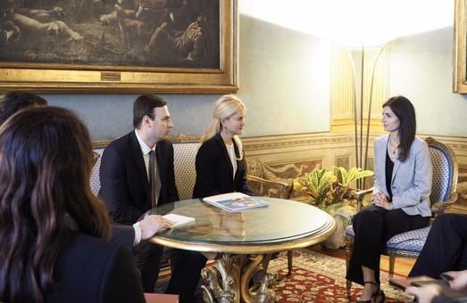 Харківська область розширить співпрацю з Італією – Світлична зустрілась з мером Риму