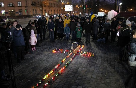 На Харківщині вшанували пам'ять жертв Голодомору 1932 – 1933 років (ФОТО)