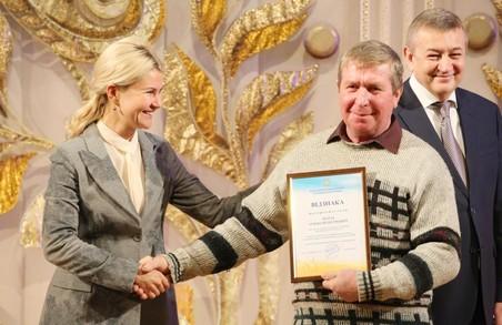 Юлія Світлична привітала аграріїв Харківщини з професійним святом