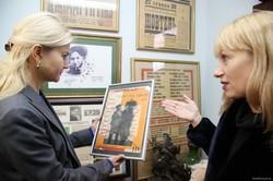 Юлія Світлична зустрілася з колективом театру ім. Т.Г. Шевченка