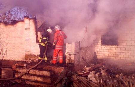 У Магдалинівському району на пожежі загинув власник будинку