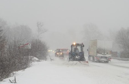 На вихідних на Харківщині прогнозують сильний сніг та хуртовину